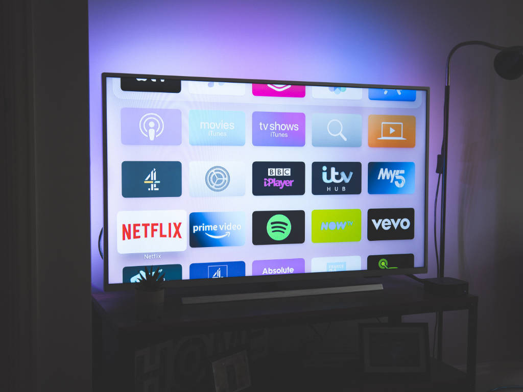 TV with streaming apps