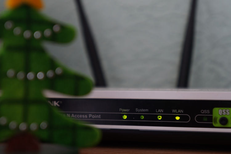 Home router with tree